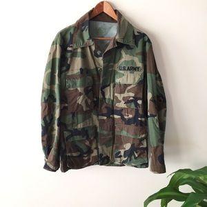 Jackets & Blazers - ARMY Camo Jacket
